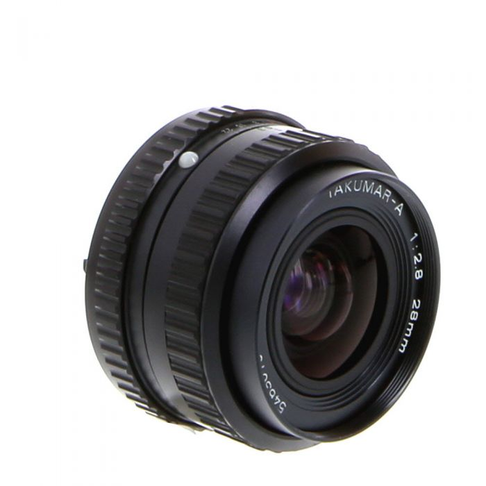 Pentax 28mm F/2.8 Takumar A K Mount Manual Focus Lens {49}