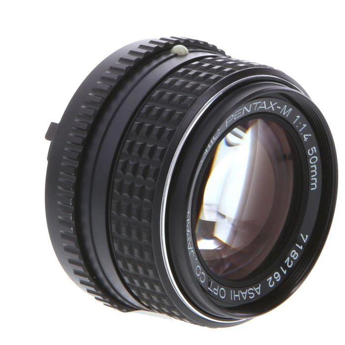 Pentax 50mm F/1.4 SMC M K Mount Manual Focus Lens {49}