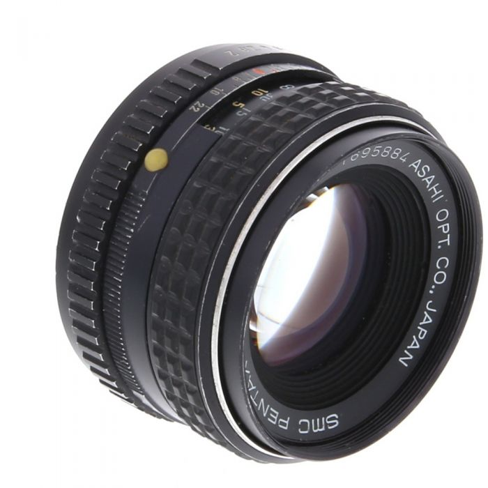 Pentax 55mm F/2 SMC K Mount Manual Focus Lens {52}