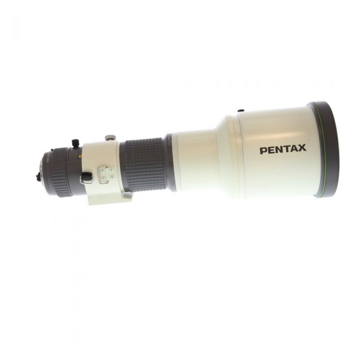 Pentax 600mm F/5.6 SMC A* ED IF K Mount Manual Focus Lens {49 Drop-In}