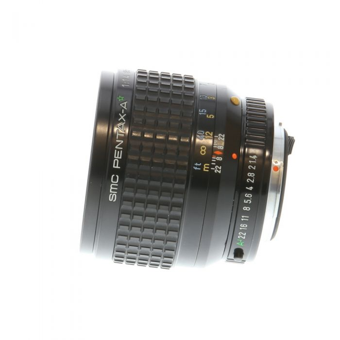 Pentax 85mm F/1.4 SMC A* K Mount Manual Focus Lens {67}
