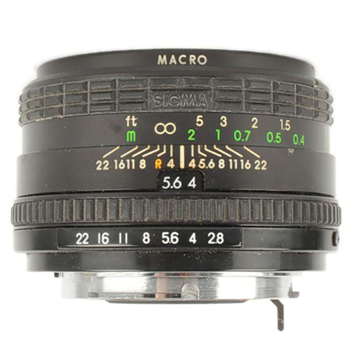 Sigma 24mm f/2.8 Super-Wide Macro Manual Focus Lens for Pentax K-Mount {52}