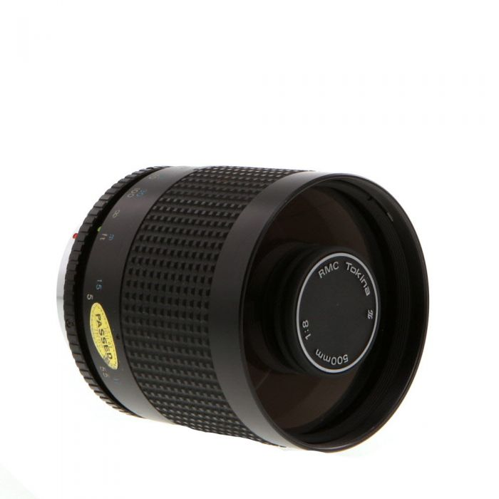 Tokina 500mm f/8 RMC Mirror MF Lens for Pentax K-Mount {Rear 35.5}