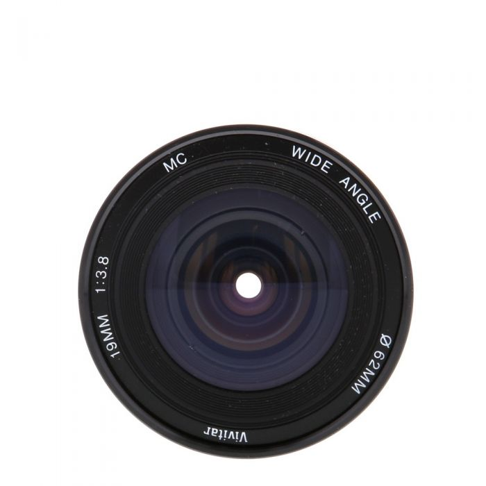 Vivitar 19mm F/3.8 MC A Manual Focus Lens For Pentax K Mount {62}