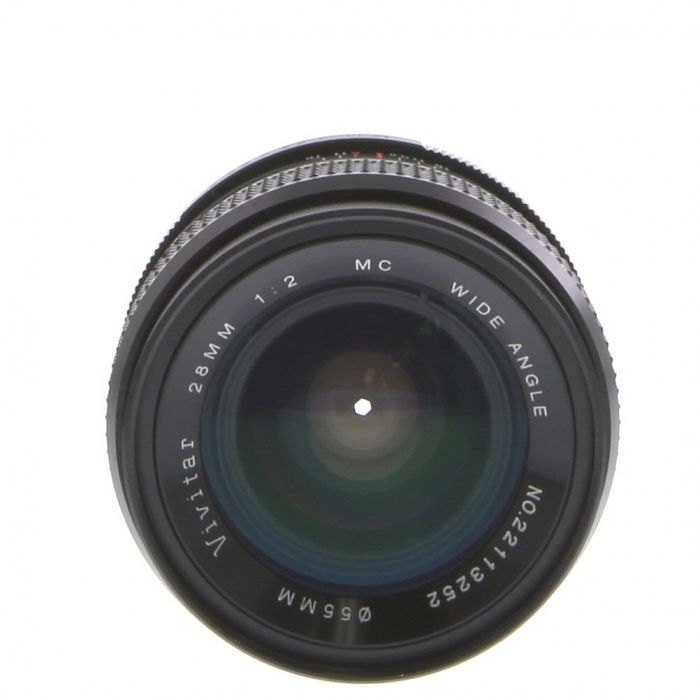 Vivitar 28mm F/2 Manual Focus Lens For Pentax K Mount {55}