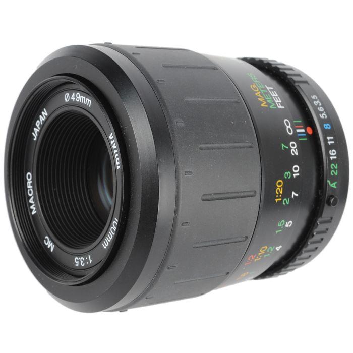 Vivitar 100mm F/3.5 Macro MC 1:1 Manual Focus Lens For Pentax K Mount {49}