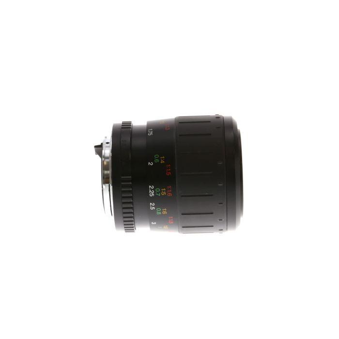 Vivitar 100mm F/3.5 Macro MC 1:2 Manual Focus Lens For Pentax K Mount {49}