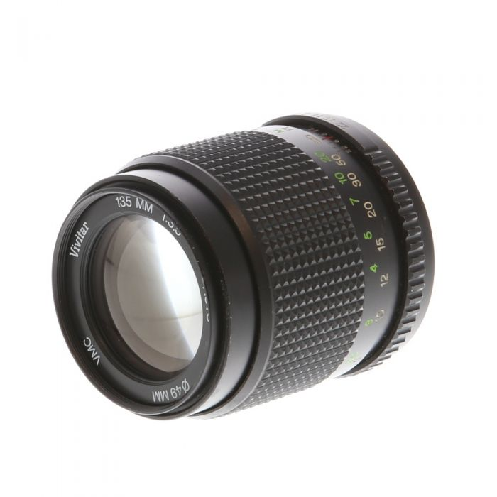Vivitar 135mm F/3.5 VMC Manual Focus Lens For Pentax K Mount {49}