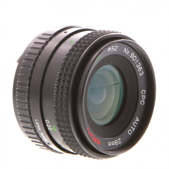 Miscellaneous Brand 28mm F/2.8 Macro Manual Focus Lens For Pentax K Mount {52}