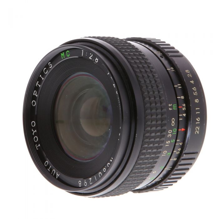 Miscellaneous Brand 28mm F/2.8 Manual Focus Lens For Pentax K Mount {55}