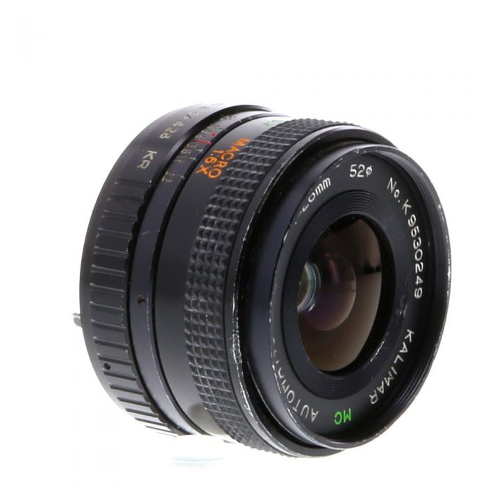Miscellaneous Brand 28mm F/2.8 A Manual Focus Lens For Pentax K Mount {52}