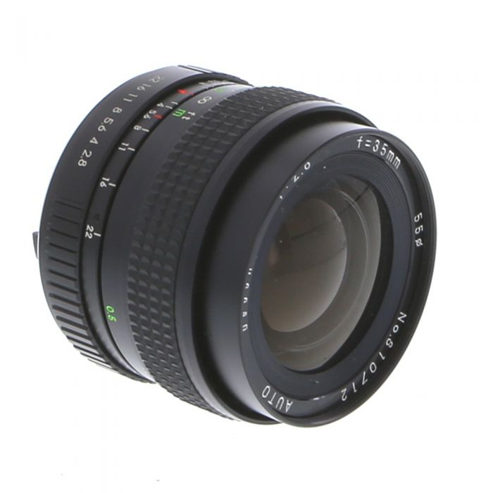 Miscellaneous Brand 35mm F/2.8 Manual Focus Lens For Pentax K Mount {55}