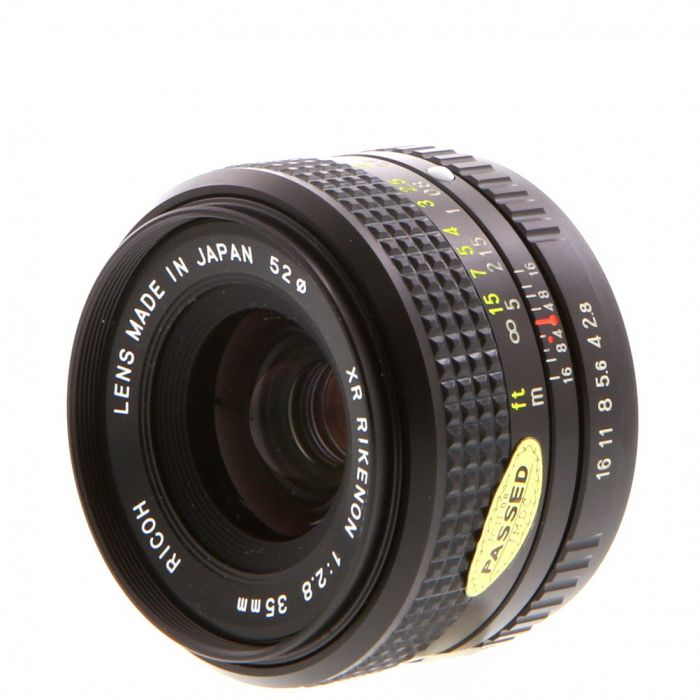 Miscellaneous Brand 35mm F/2.8 Manual Focus Lens For Pentax K Mount {52}