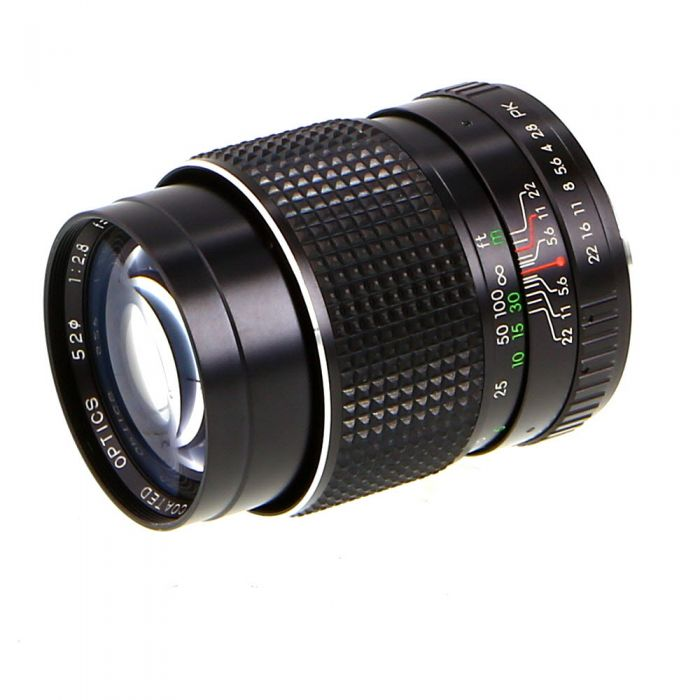 Miscellaneous Brand 135mm F/2.8 M Manual Focus Lens For Pentax K Mount {52}