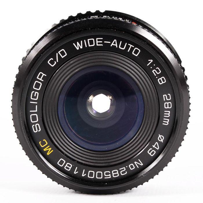 Soligor 28mm F/2.8 C/D Manual Focus Lens For Pentax K Mount {49}