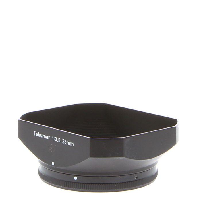 Pentax 28 F/3.5 Takumar Rectangular Metal Clamp-On (49) Lens Hood