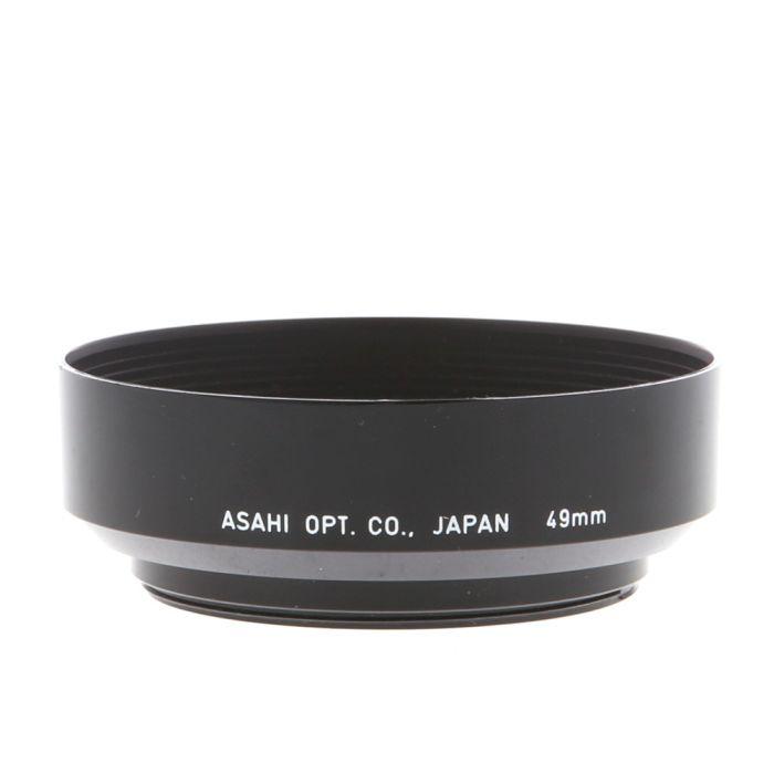 Pentax 50 F/1.4, F/1.7, F2 (49mm Round) Lens Hood