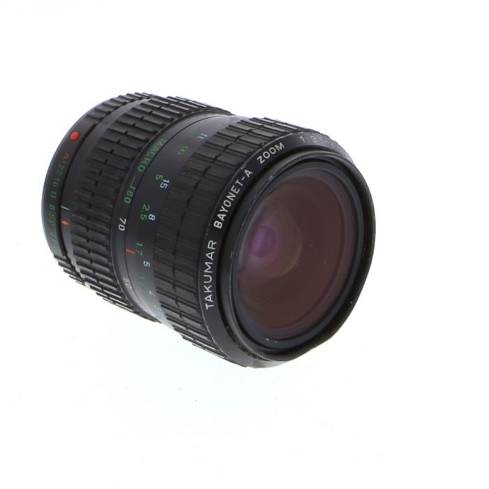 Pentax 28-80mm F/3.5-4.5 Takumar A 2-Touch K Mount Manual Focus Lens {58}