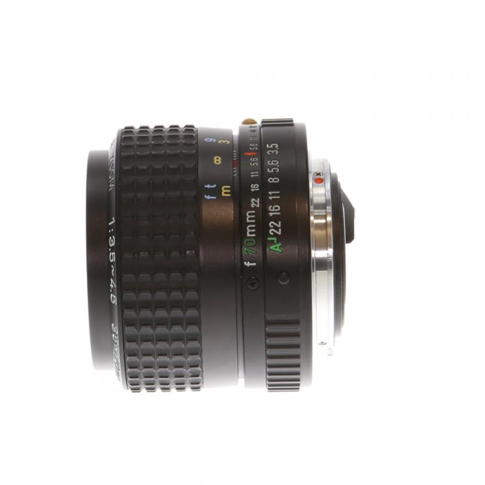 Pentax 35-70mm F/3.5-4.5 SMC A Macro K Mount Manual Focus Lens {49}