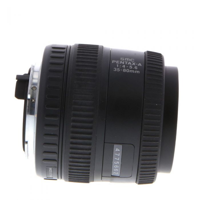 Pentax 35-80mm F/4-5.6 SMC A 2-Touch K Mount Manual Focus Lens {49}