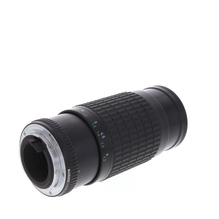 Pentax 80-200mm F/4.5 Takumar Bayonet K Mount Manual Focus Lens {52}