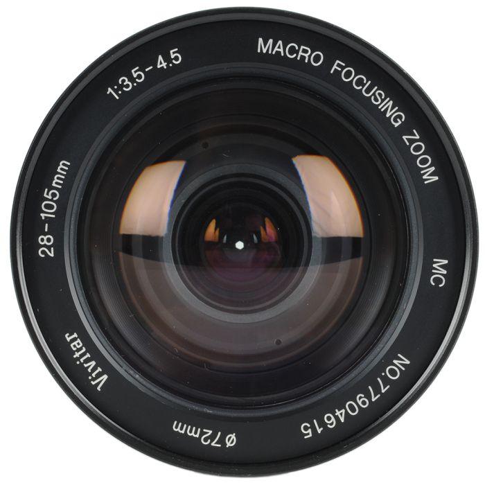 Vivitar 28-105mm F/3.5-4.5 Macro Manual Focus Lens For Pentax K Mount {72}