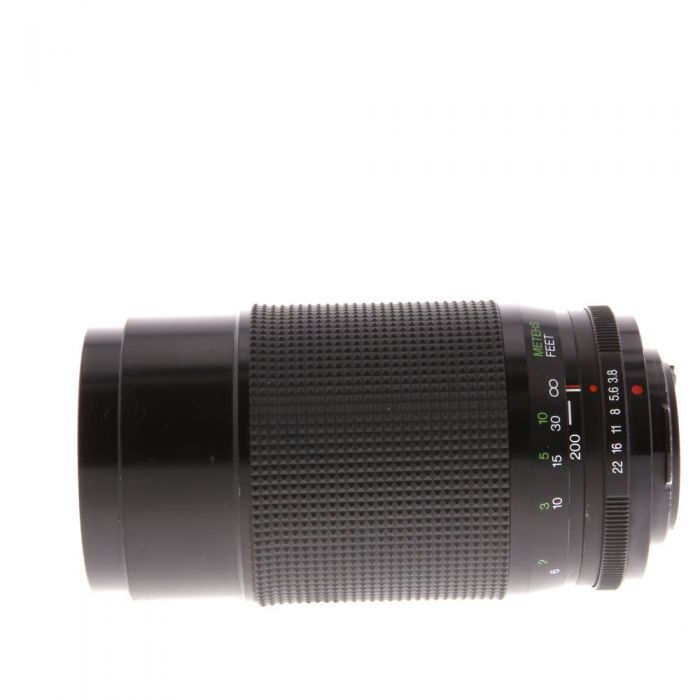 Vivitar 70-200mm F/3.8 Macro Manual Focus Lens For Pentax K Mount {58}