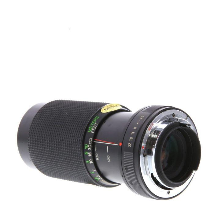 Vivitar 70-210mm F/4.5 MC Macro A Manual Focus Lens For Pentax K Mount {52}