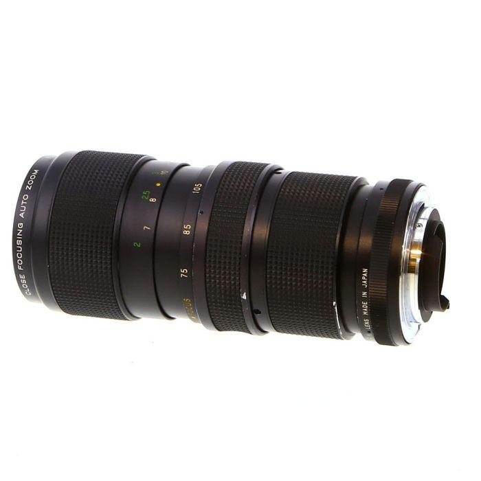 Vivitar 75-205mm F/3.8 Close Focusing 2-Touch Manual Focus Lens For Pentax K Mount {58}