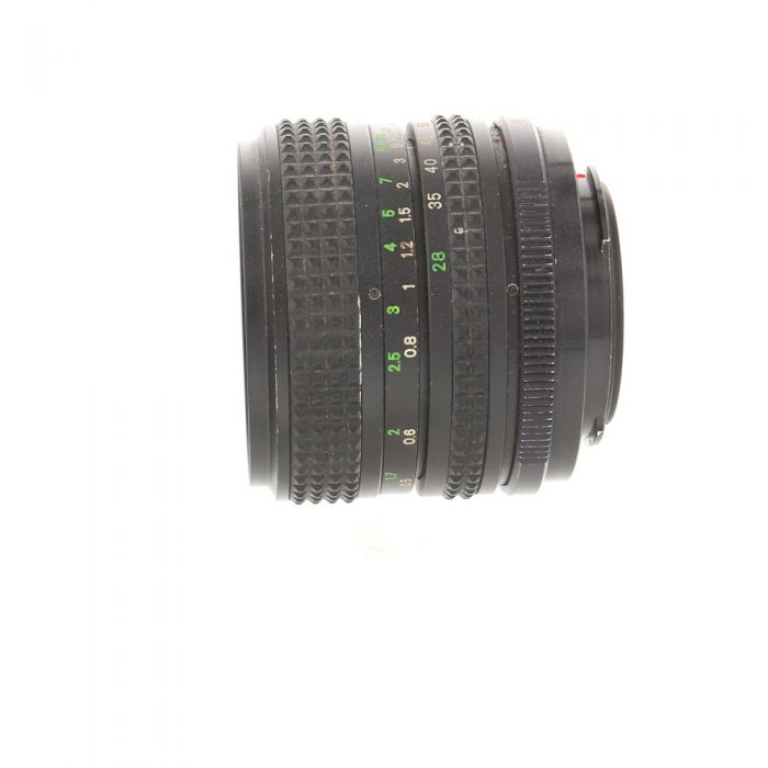 Miscellaneous Brand 28-50mm F/3.5-4.5 2-Touch Manual Focus Lens For Pentax K Mount {55}