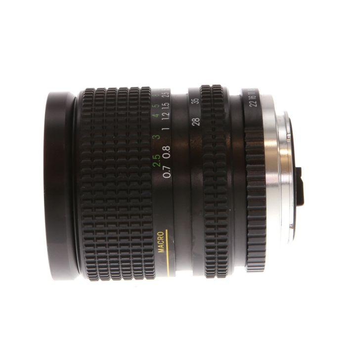 Miscellaneous Brand 28-70mm F/4 MC Macro Manual Focus Lens For Pentax K Mount {62}