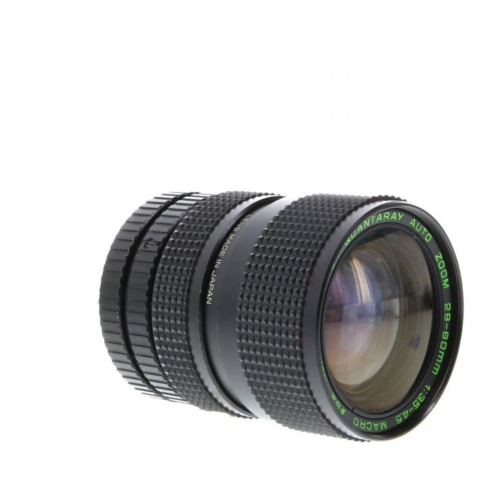 Miscellaneous Brand 28-80mm F/3.5-4.5 Macro Manual Focus Lens For Pentax K Mount {62}