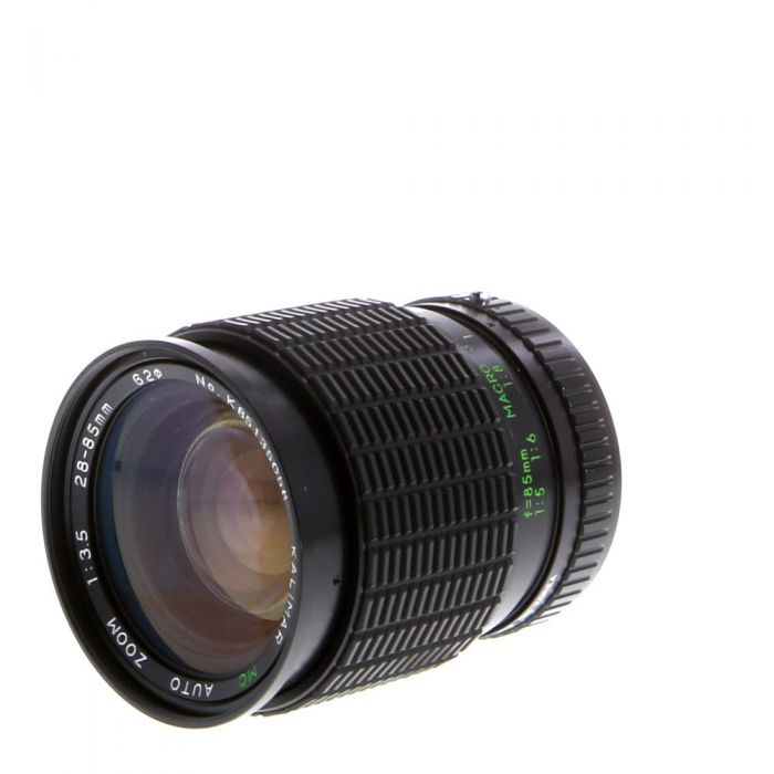 Miscellaneous Brand 28-85mm F/3.5 Macro A Manual Focus Lens For Pentax K Mount {62}