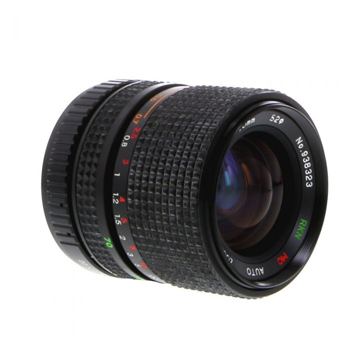 Miscellaneous Brand 35-70mm F/3.5-4.5 A Macro 2-Touch Manual Focus Lens For Pentax K Mount {52}