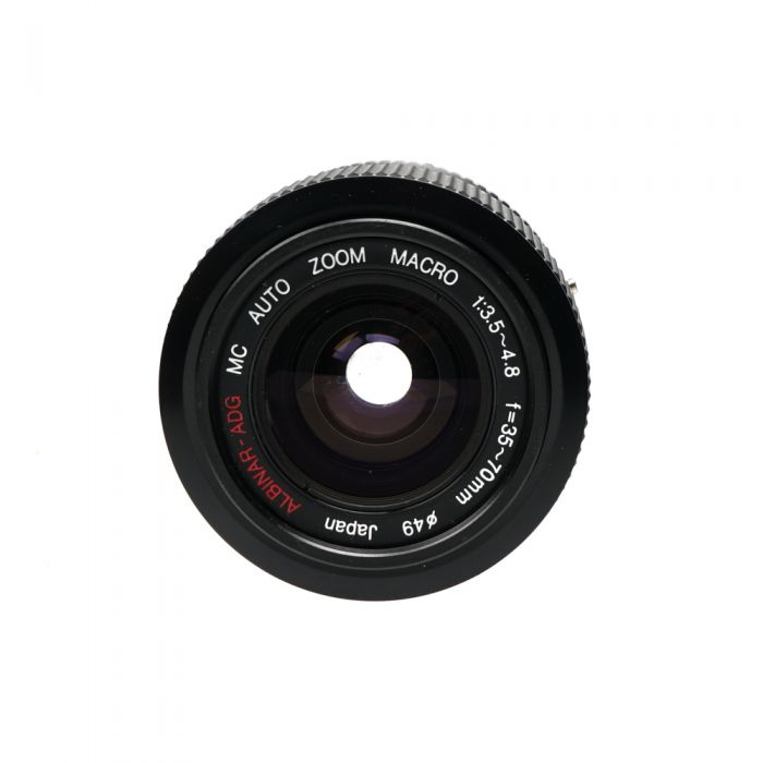 Albinar 35-70mm F/3.5-4.8 ADG Macro Manual Focus Lens For Pentax K Mount {49}