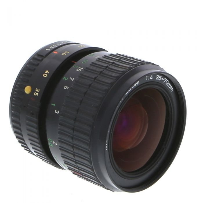 Miscellaneous Brand 35-70mm F/4 Macro 2-Touch Manual Focus Lens For Pentax K Mount {58}