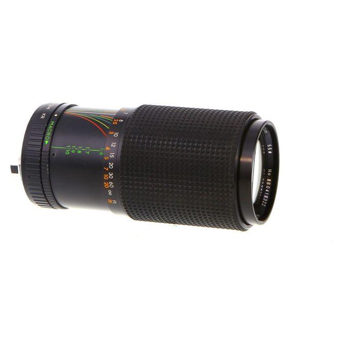 Miscellaneous Brand 70-210mm F/4 Macro Manual Focus Lens For Pentax K Mount {55}