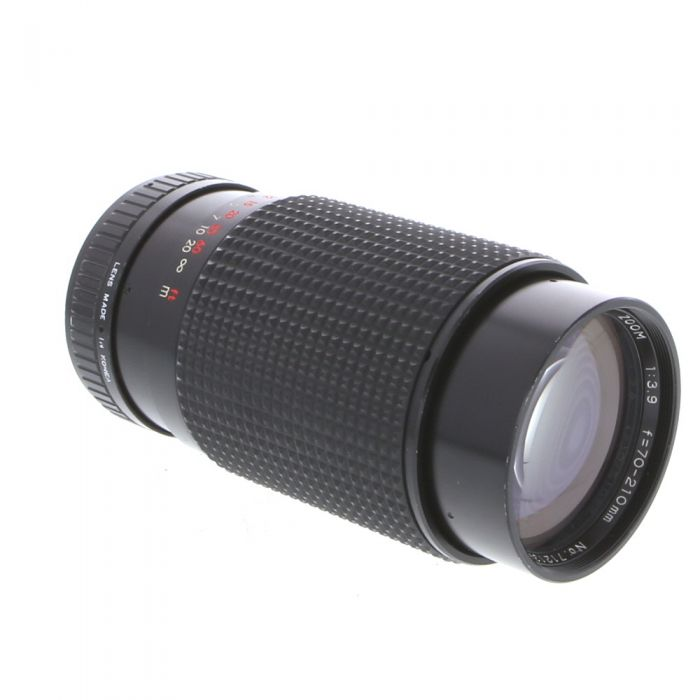 Miscellaneous Brand 70-210mm F/3.9 Macro Manual Focus Lens For Pentax K Mount {55}
