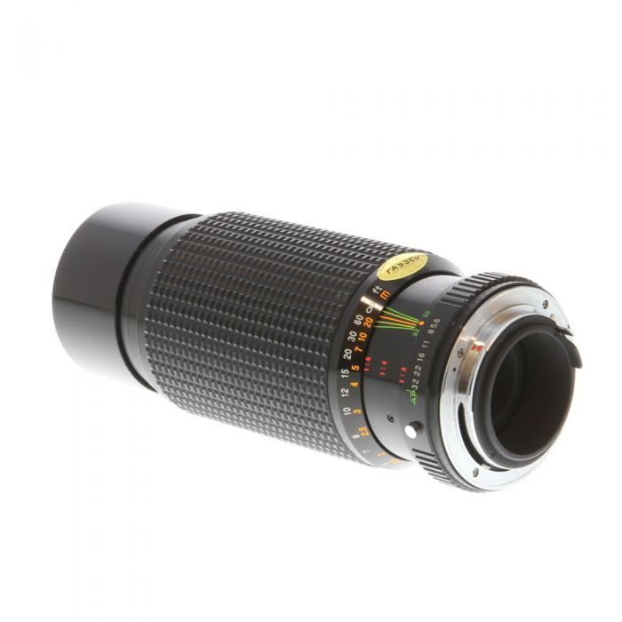 Miscellaneous Brand 75-300mm F/4.5-5.6 Macro A Manual Focus Lens For Pentax K Mount {58}