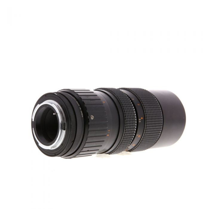 Miscellaneous Brand 80-200mm F/3.5 Macro Manual Focus Lens For Pentax K Mount {62}