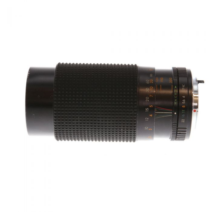 Miscellaneous Brand 80-200mm F/4 Macro A Manual Focus Lens For Pentax K Mount {55}