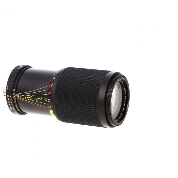 Miscellaneous Brand 80-205mm F/4.5 Macro Manual Focus Lens For Pentax K Mount {52}