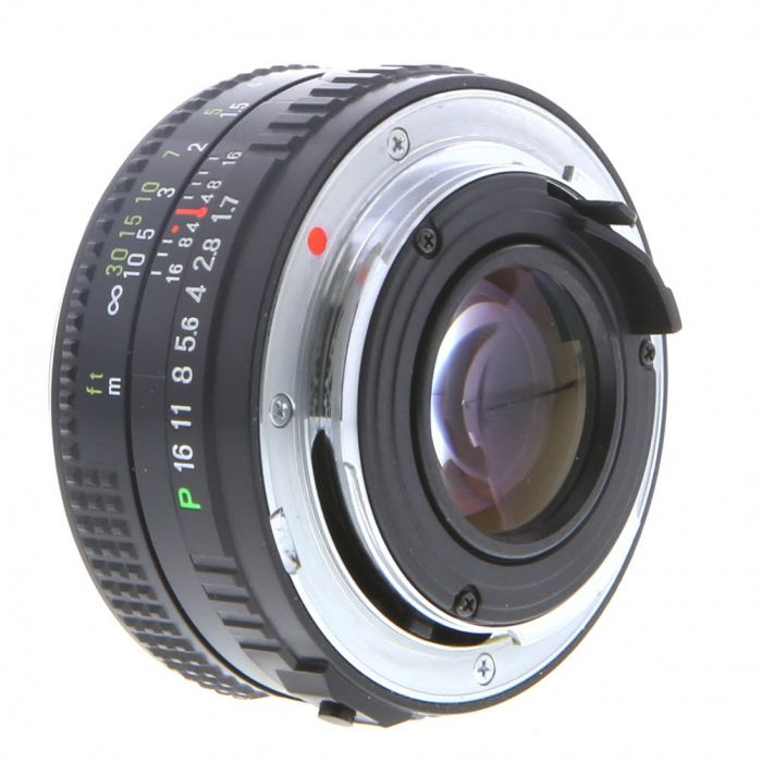 Ricoh 50mm F/1.7 Rikenon P Manual Focus Lens For Pentax K Mount {52}