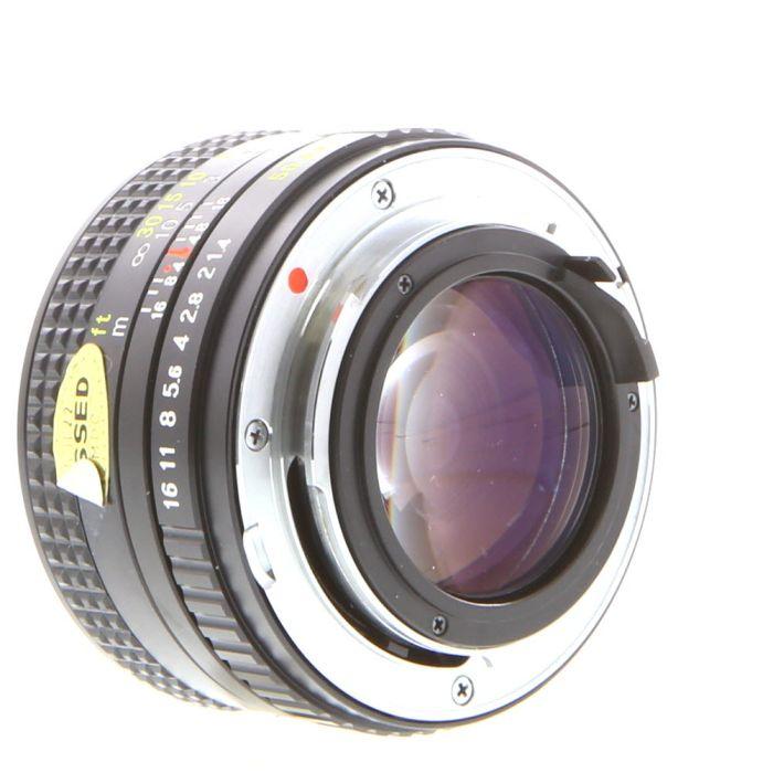 Ricoh 50mm F/1.4 Rikenon XR Manual Focus Lens For Pentax K Mount {52}
