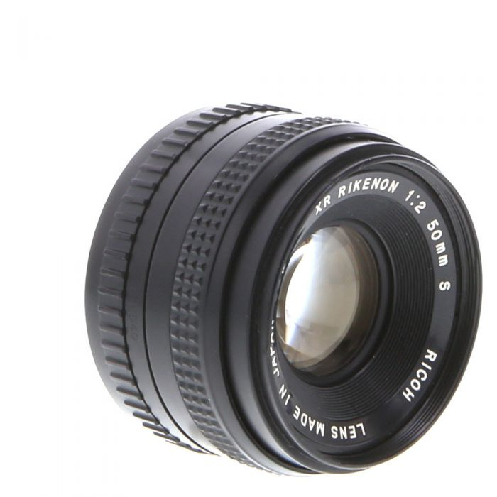 Ricoh 50mm F/2 Rikenon XR S Manual Focus Lens For Pentax K Mount {52}