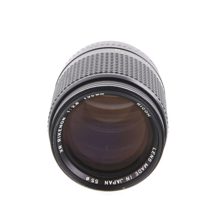 Ricoh 135mm F/2.8 Rikenon XR Manual Focus Lens For Pentax K Mount {55}
