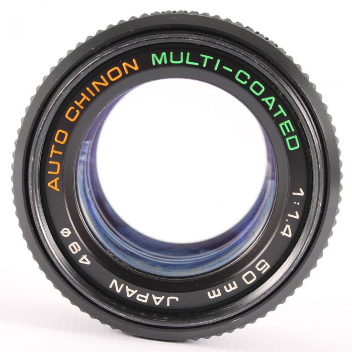 Chinon 50mm F/1.4 Auto Chinon Manual Focus Lens For Pentax K Mount {49}
