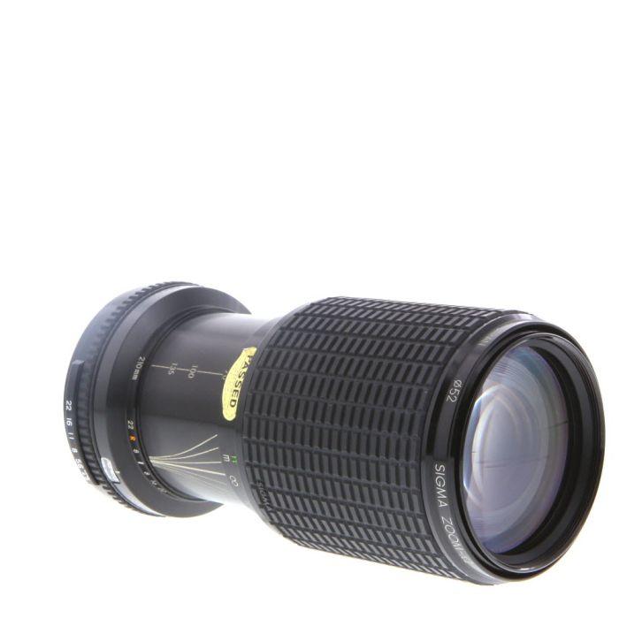 Sigma 70-210mm F/4.5 II Macro Manual Focus Lens For Pentax K Mount {52}