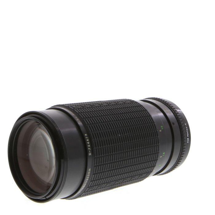 Sigma 80-200mm F/3.5-4 HI-Speed MC Manual Focus Lens For Pentax K Mount {52}