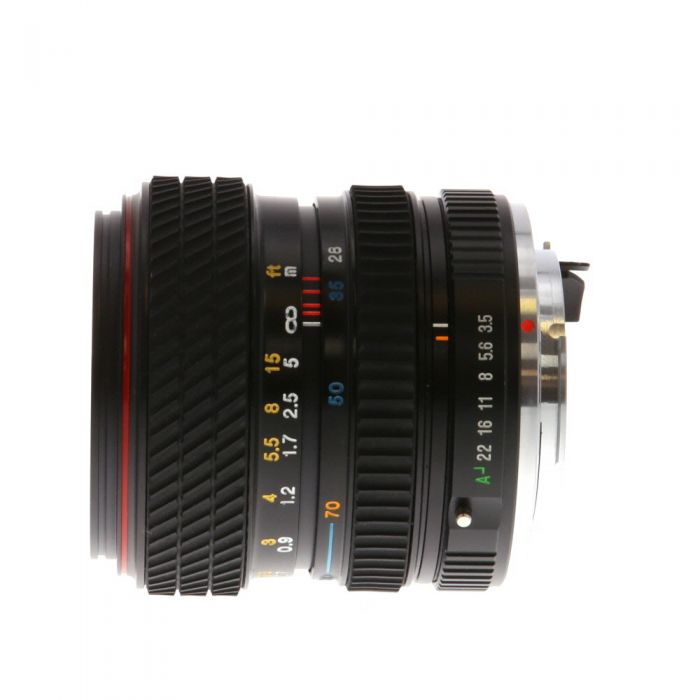 Tokina 28-70mm F/3.5-4.5 Macro SD A 2-Touch Manual Focus Lens For Pentax K Mount {52}